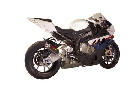BMW S1000RR (10-14') MGP Exhaust - Slip on Stainless Canister