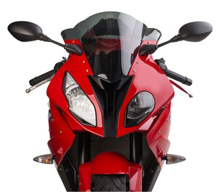BMW S1000RR (15-18') GP Windscreen (Dual Radius) - Solid Black