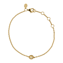 Load image into Gallery viewer, Iris bracelet - solid gold