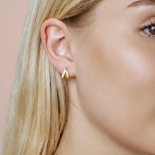 Load image into Gallery viewer, Olive earrings - gold