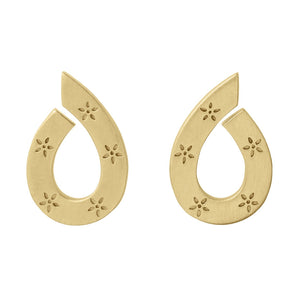 Mini Stella earring - gold