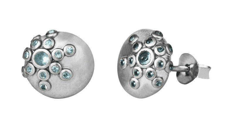 Galaxy earring - silver