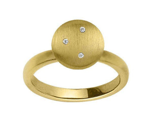 Mini starry ring - gold