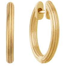 Load image into Gallery viewer, Isla hoops small - gold