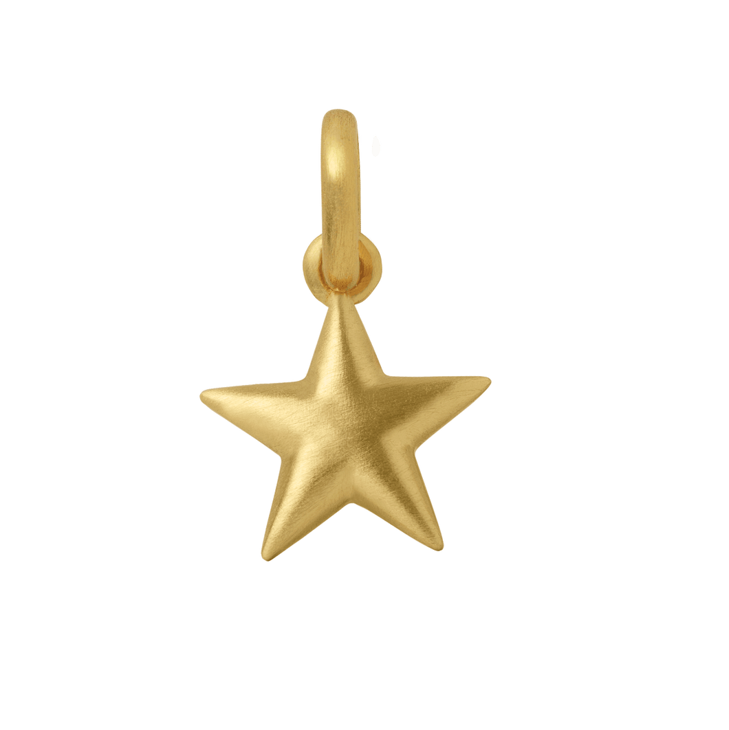 Star pendant - gold