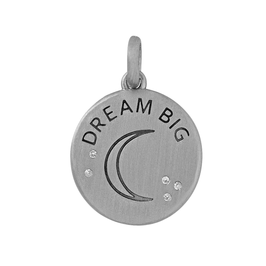 Dream Big pendant - silver