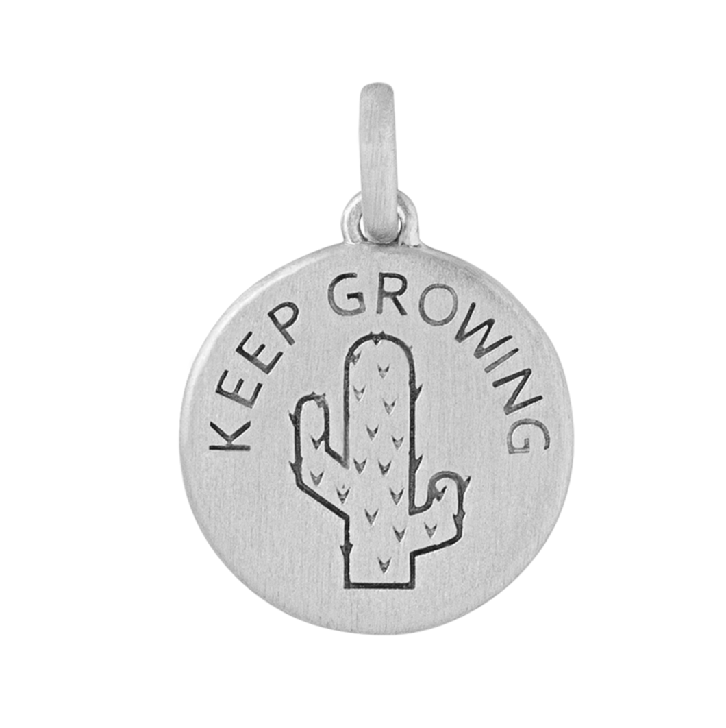 Keep Growing pendant - silver