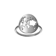 Load image into Gallery viewer, Beautiful World ring - silver