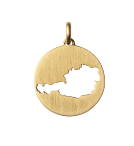 Beautiful Austria pendant - gold
