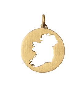 Beautiful Ireland pendant - gold