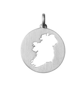 Beautiful Ireland pendant - silver