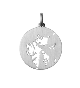 Beautiful Svalbard pendant - silver