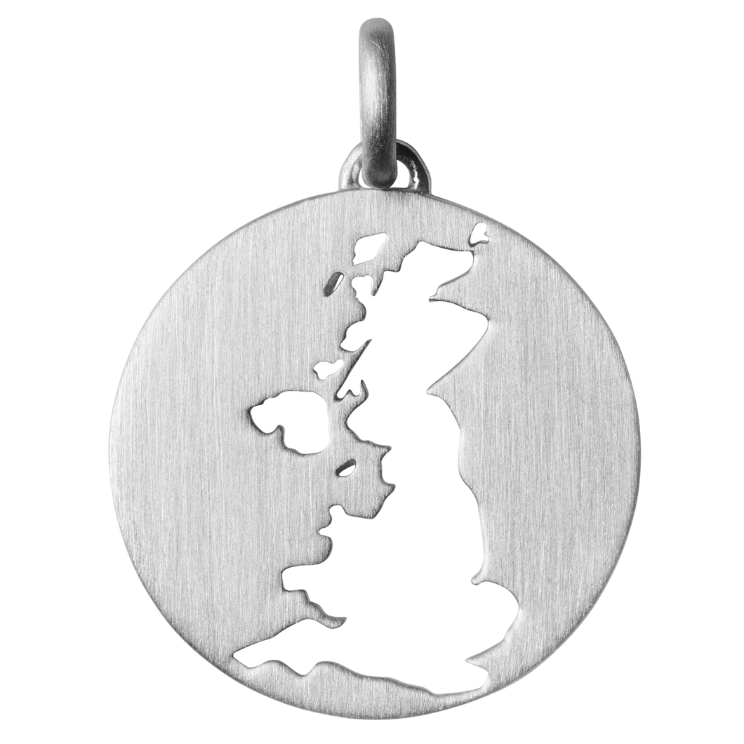 Beautiful UK pendant - Silver