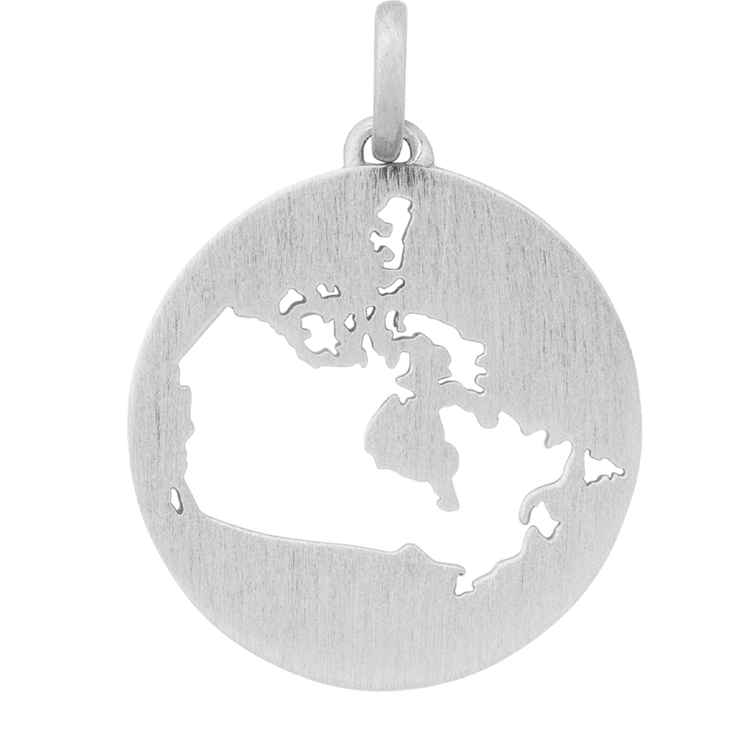 Beautiful Canada pendant - silver