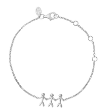 Load image into Gallery viewer, Together Family 3 bracelet - silver