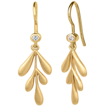 Load image into Gallery viewer, Forest earring - gold