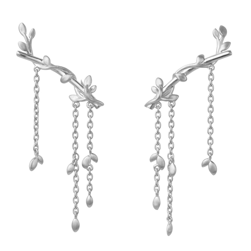 Jungle Ivy earring large - silver