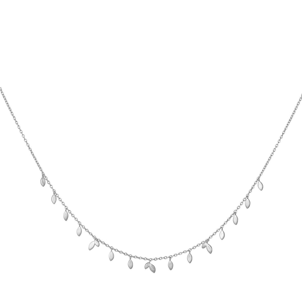 Jungle Vine necklace - silver