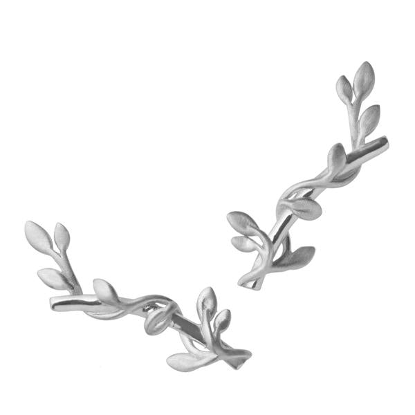 Jungle Ivy earring - silver