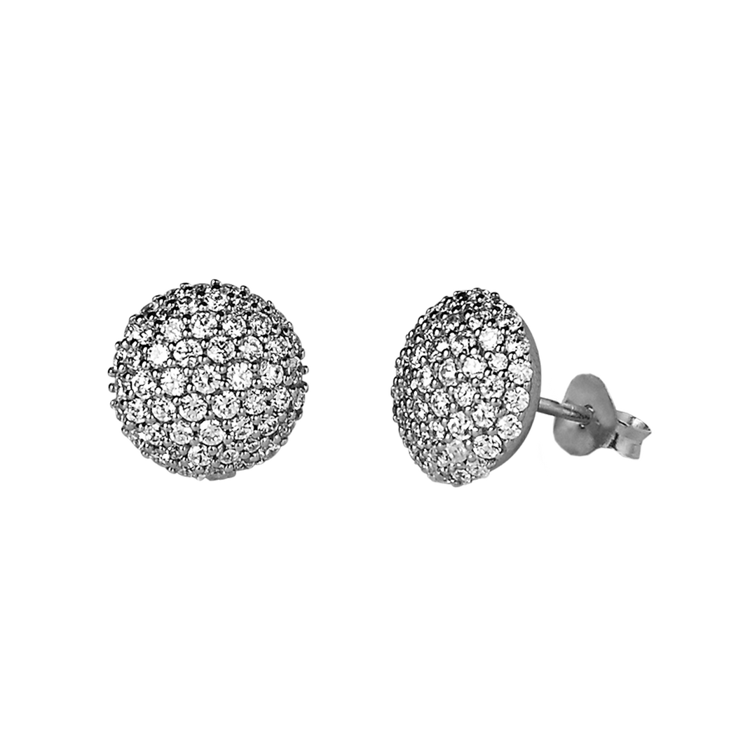 Sparkle earring - silver