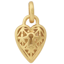 Load image into Gallery viewer, Unlock, The Lock pendant - gold