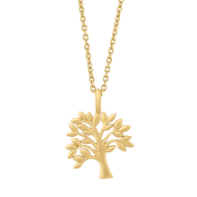 Load image into Gallery viewer, Life Tree necklace - gold