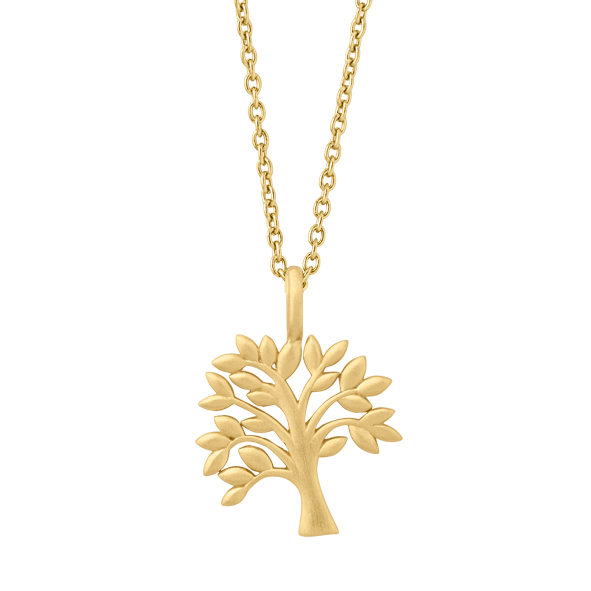 Life Tree necklace - gold