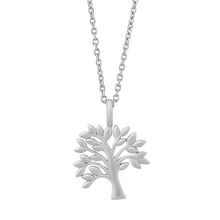 Load image into Gallery viewer, Life Tree  necklace - silver