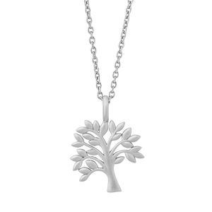 Life Tree  necklace - silver