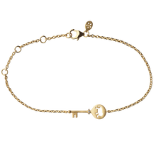 Load image into Gallery viewer, Unlock Strength bracelet - gold