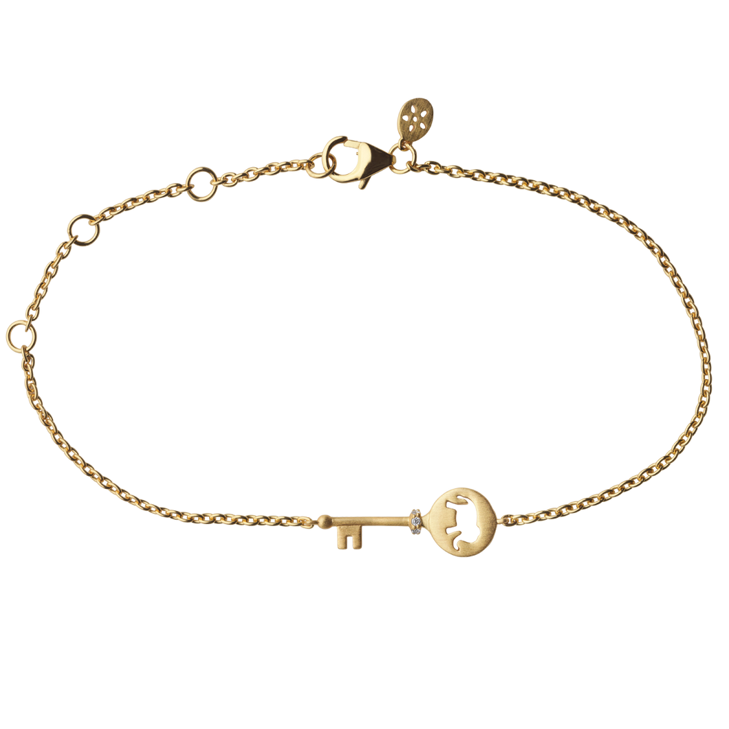 Unlock Strength bracelet - gold