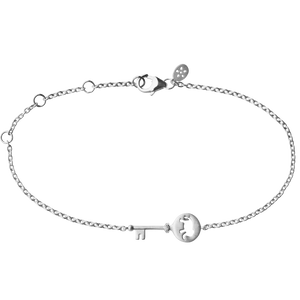 Unlock Strength bracelet - silver