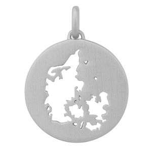 Beautiful Denmark pendant - silver