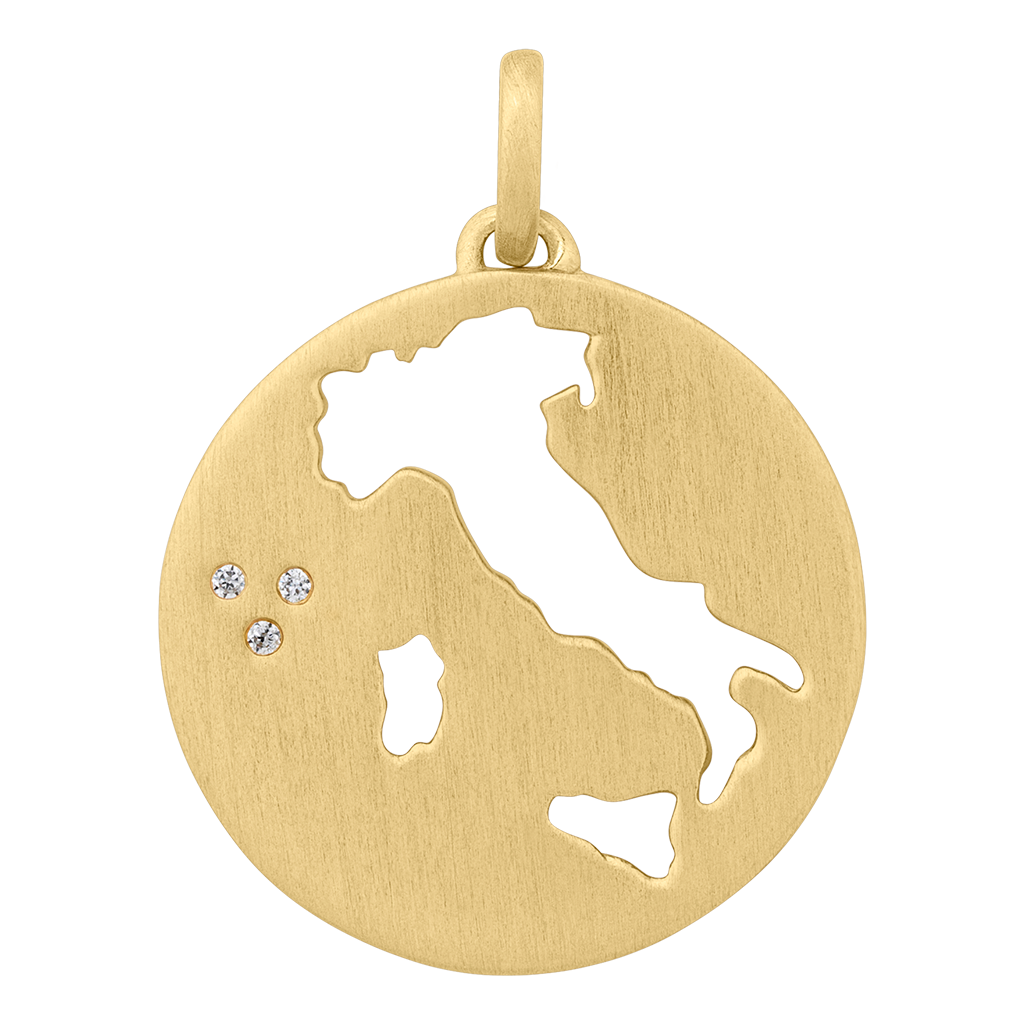 Beautiful Italy pendant - gold