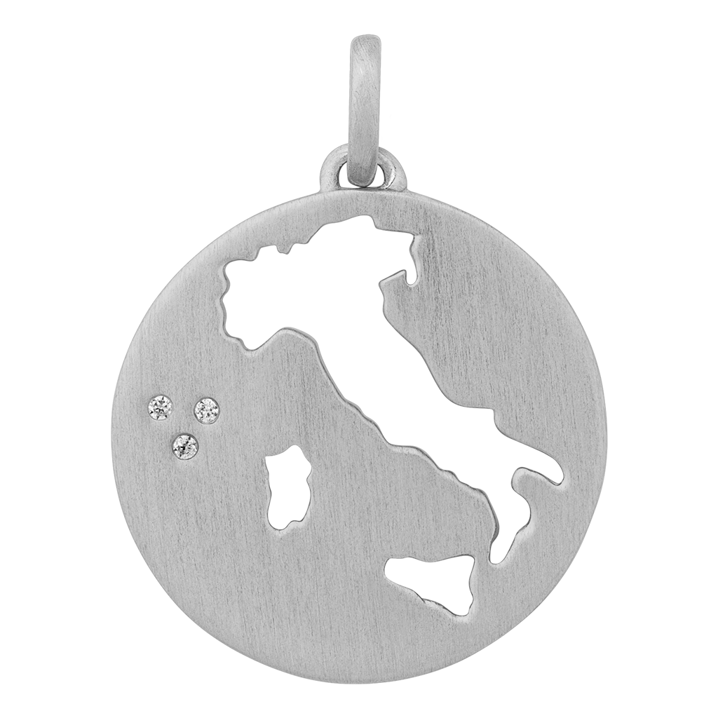 Beautiful Italy pendant - silver