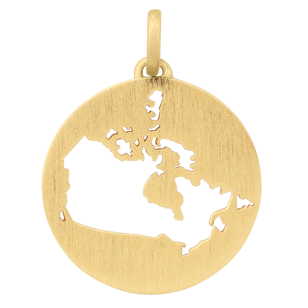 Beautiful Canada pendant - gold