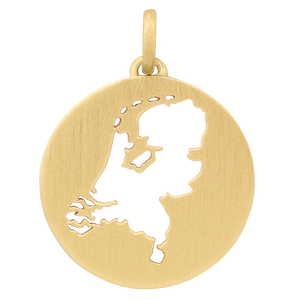 Beautiful Holland pendant - gold