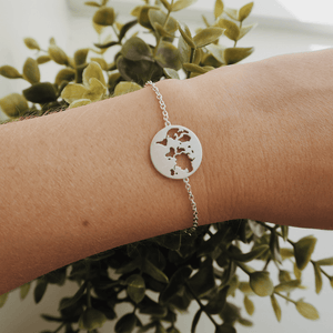 Beautiful World bracelet - silver