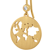 Load image into Gallery viewer, Beautiful World earring - gold