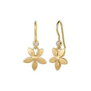 Forget-me-not earring - gold