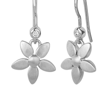 Load image into Gallery viewer, Forget-me-not earring - silver