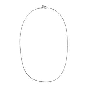 Classic necklace - silver
