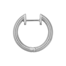 Load image into Gallery viewer, Isla hoops small - silver