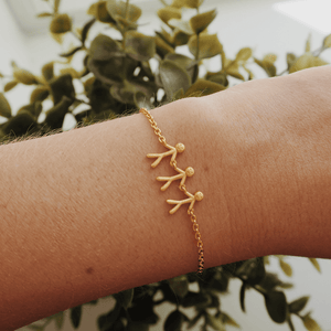 Together Family 3 bracelet - gold