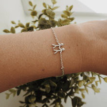 Load image into Gallery viewer, Together My Love bracelet - silver