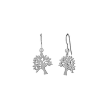 Load image into Gallery viewer, Life Tree earring - silver