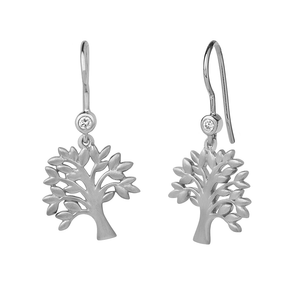 Life Tree earring - silver