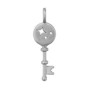 Unlock Miracles necklace - silver