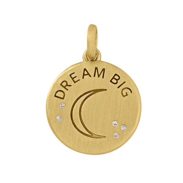 Dream Big pendant - gold