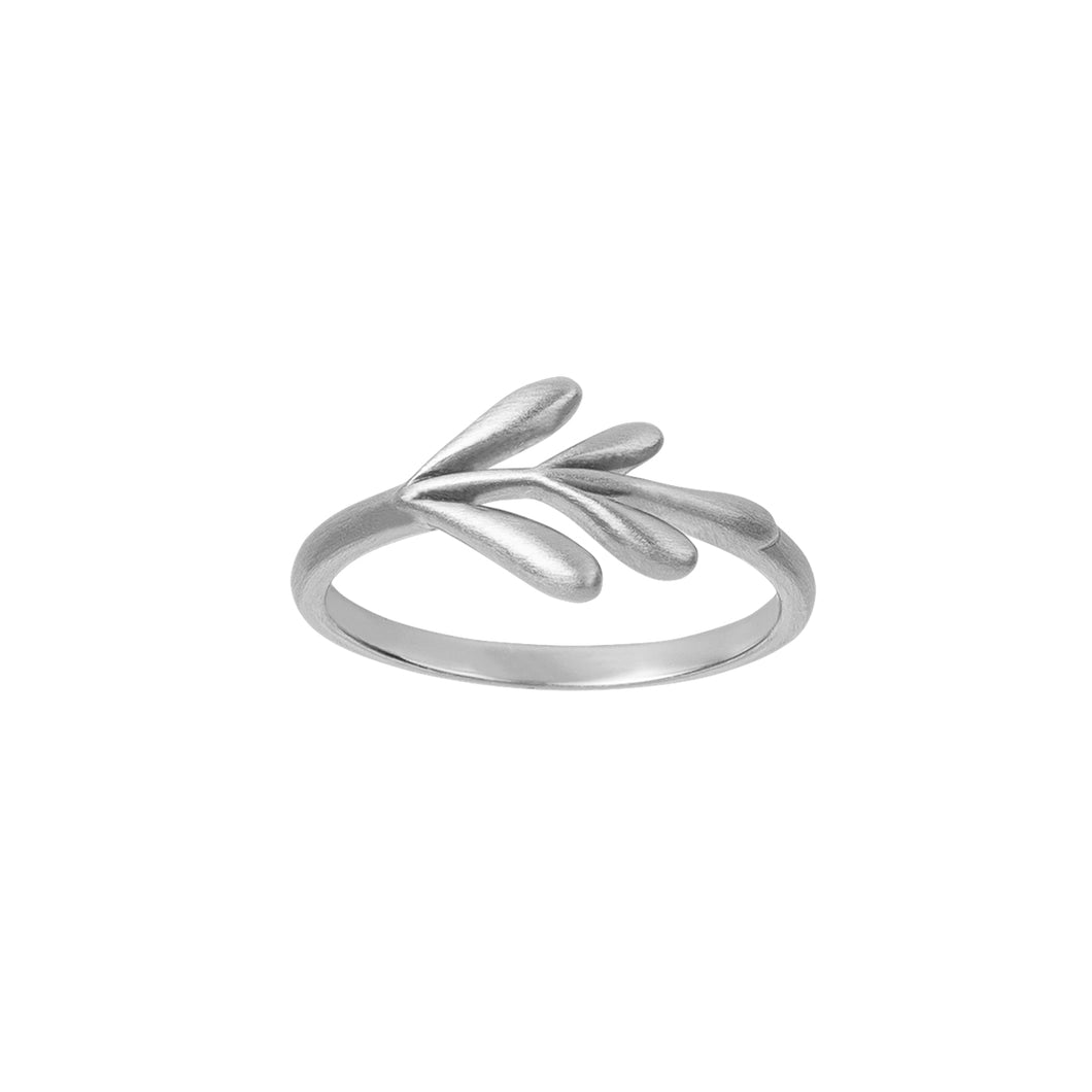 Forest ring - silver
